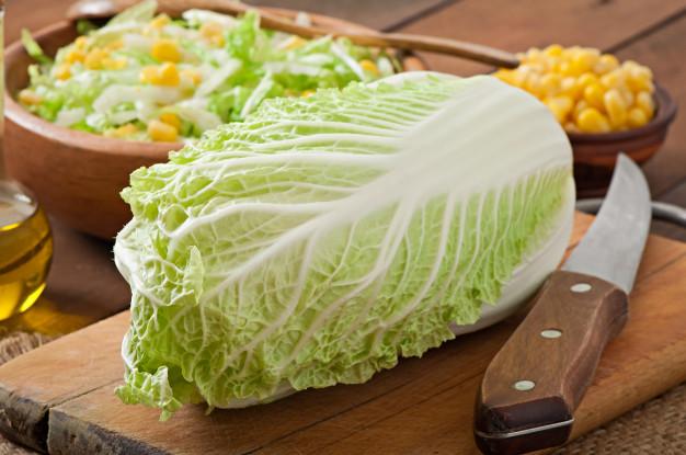 Chou chinois Calories BodySano