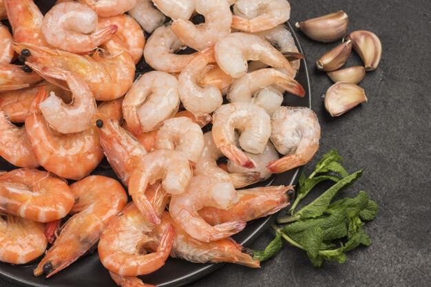 Crevettes grises Calories BodySano