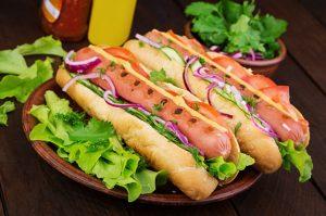 Hot Dog Calories BodySano
