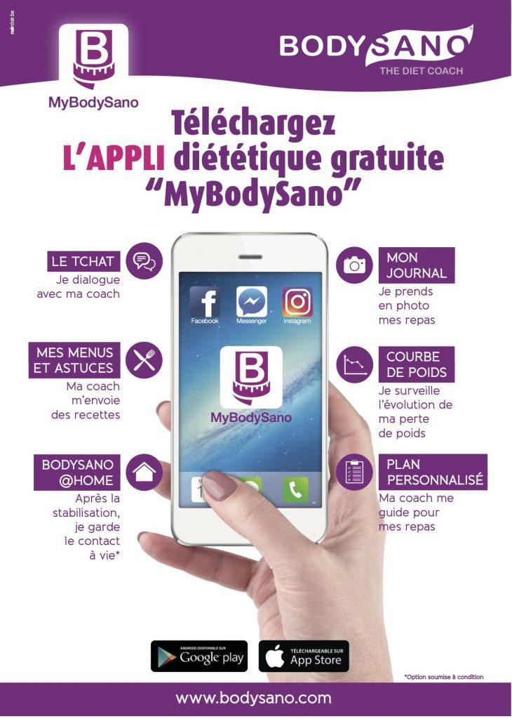 MyBodySano application bodysano