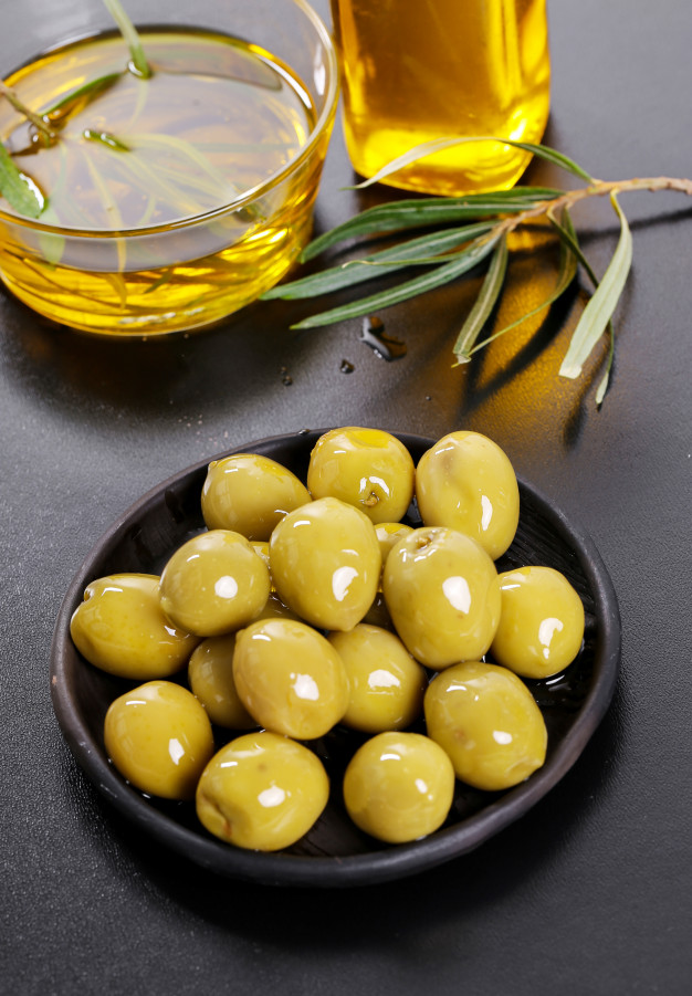 Olive verte Calories BodySano