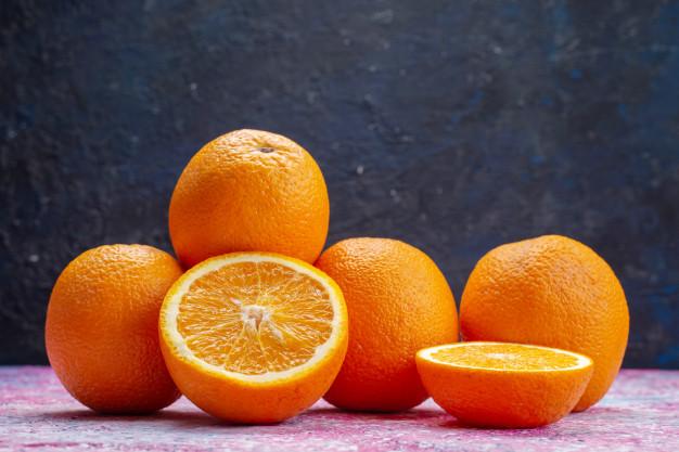 Orange Calories BodySano
