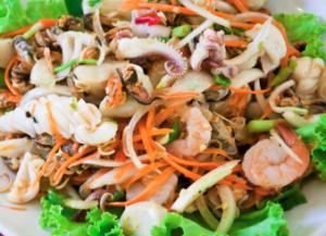 Salade asiatique de chou aux crevettes Recette BodySano