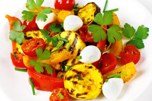 Salade de courgette et mozzarella light Recettes BodySano