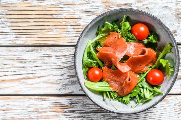 Salade de saumon fume Recettes BodySano