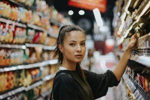 Supermarket etiquettes