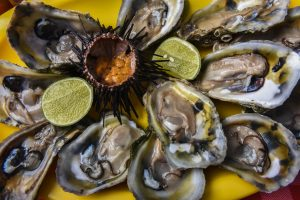 apports nutritionnels crustaces coquillages moules huitres