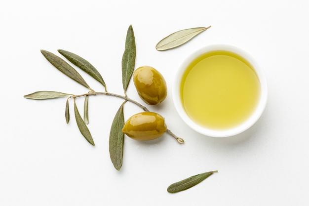 huile olive dessin