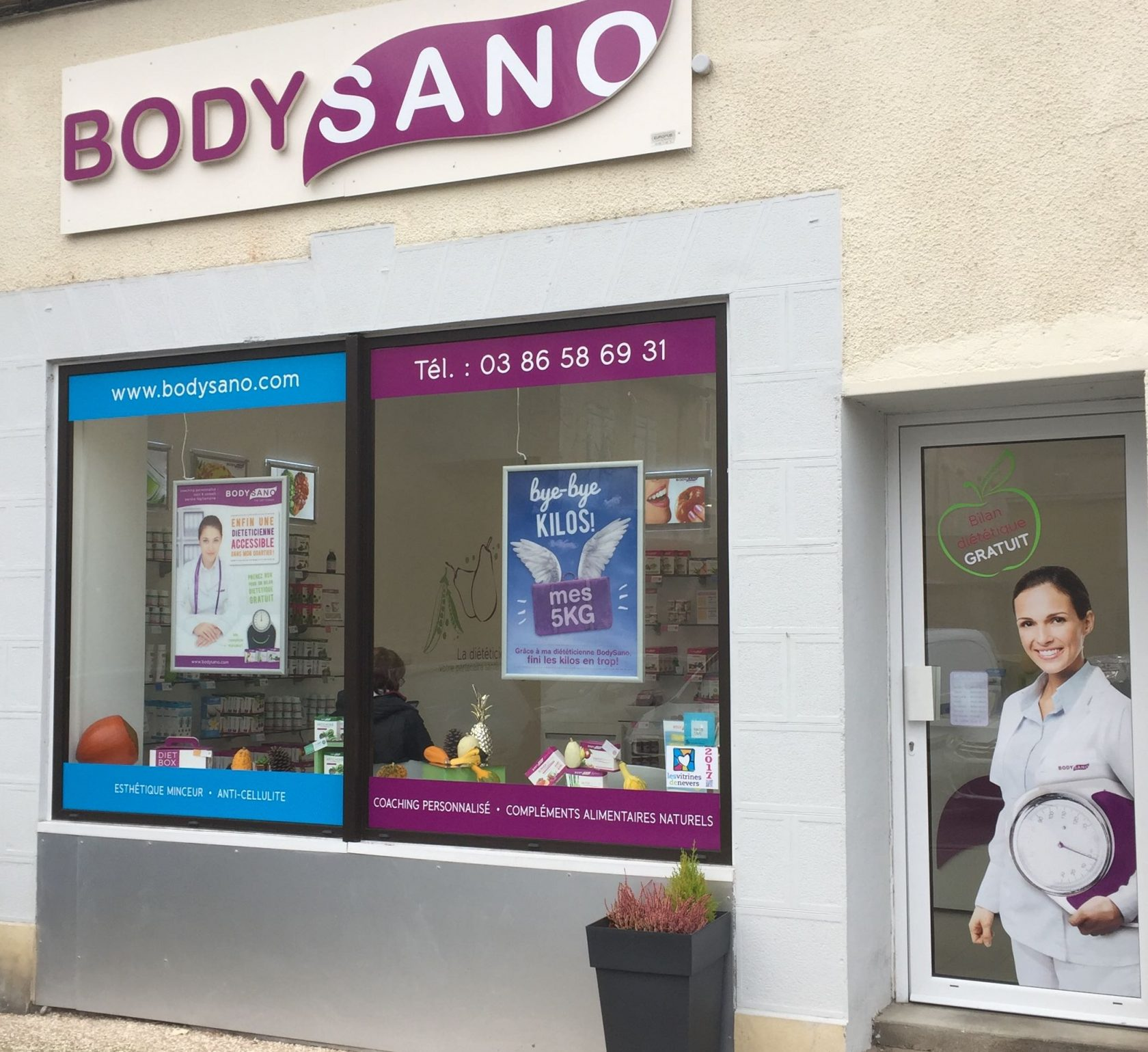 BodySano Nevers exterieur